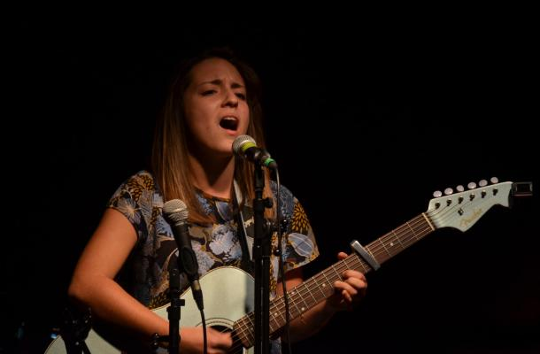 Léa en concert à Bayonne le 20 décembre 2015